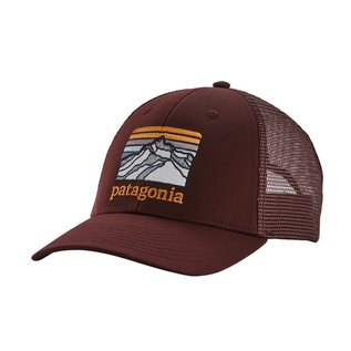 Patagonia Patagonia Line Logo Ridge LoPro Trucker - Dark Ruby