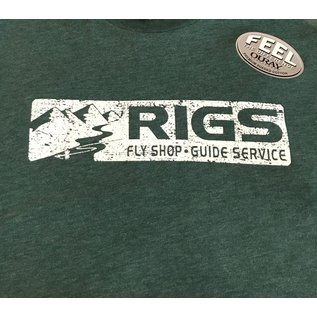 RIGS RIGS Sueded Short Sleeve Tee
