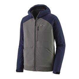 Patagonia Patagonia Men's Snap-Dry Hoody - Hex Grey and Navy