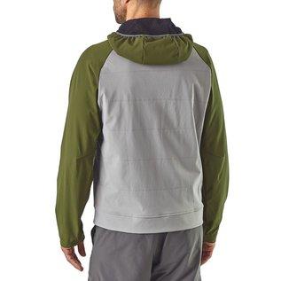 Patagonia Patagonia Men's Snap-Dry Hoody - Hex Grey/Navy