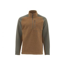 Simms Fishing Simms Rivershed Sweater - Quarter Zip