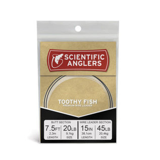Scientific Anglers SA Premium Toothy Fish 7.5' 45lb Wire