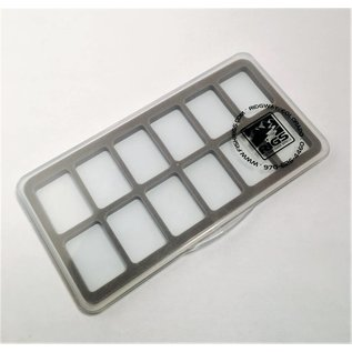 Waterproof Clear Thin Fly Box -  12 comp
