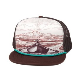 Fishpond Fishpond Drifter Foam Trucker Hat- Brown/Cream