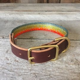 Whiskey Leather Works Wiskey Leatherworks Dog Collar -