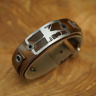 Sight Line Provisions Sight Line Leather Bracelet -
