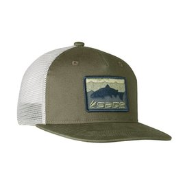 Sage Sage Patch Trucker - Green