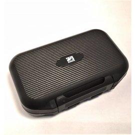 RIGS Logo'd Small Watertight Fly Box - Black