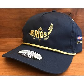 RIGS RIGS Dope Rope - Retro Fish Navy/Gold