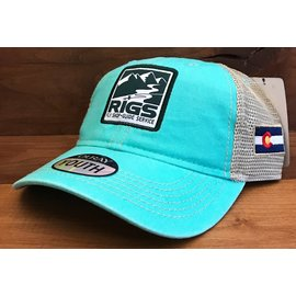 RIGS RIGS Youth Legend Vintage Washed Trucker Hat -