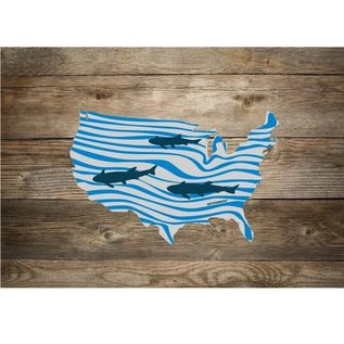 Rep Your Water RepYourWater USA Clean Water Sticker