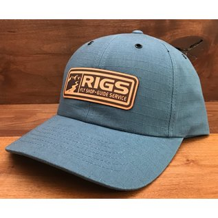 RIGS RIGS Leather Logo 931 - Koosah Mallard Blue