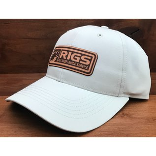 RIGS RIGS Leather Logo 225 - Solid Stone