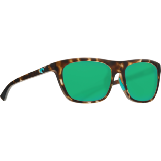 Costa Del Mar Costa Cheeca Matte Shadow Tortoise - 580G - Green Mirror