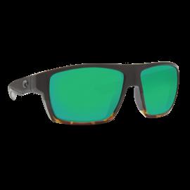 Costa Del Mar Costa Bloke Black/Shiny Tort - 580G - Green Mirror
