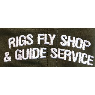 RIGS RIGS Silicon Transfer Logo 255 - Army Olive