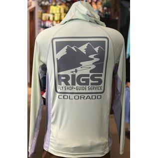 RIGS Simms RIGS Logo M's solarflex Hoody -
