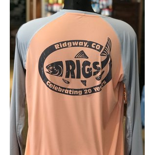 RIGS Simms RIGS Retro Fish W's Solarflex Crewneck -