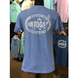RIGS RIGS Logo'd Throwback T-Shirt -