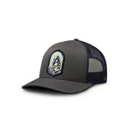 Dead Drift Dead Drift Trout Badge Hat - Charcoal/Navy