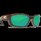 Costa Del Mar Costa Fisch - Tortoise Frame - 580G- Green Mirror