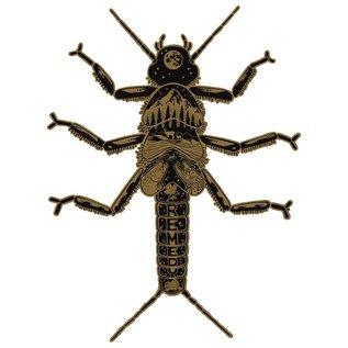 Golden Stonefly Decal