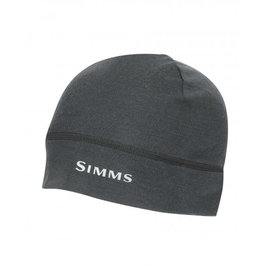 Simms Fishing Simms LightWeight Wool Liner Beanie - Carbon