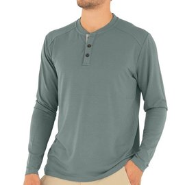 Free Fly Men's Bamboo Flex Henley -