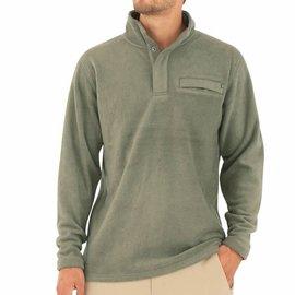 Free Fly Men's Bamboo Polar Fleece Snap Pullover -