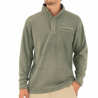 Free Fly Men's Bamboo Polar Fleece Snap Pullover -