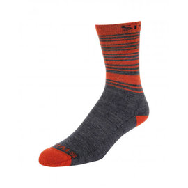 Simms Fishing Simms Men's Merino Lightweight Hiker Socks -