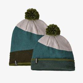 Patagonia Patagonia Lightweight Powder Town Beanie - Field Festival Knit: Regen Green