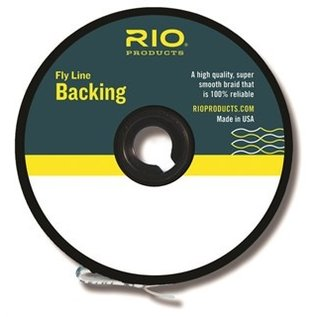 Rio Products RIO Fly Line Backing 20LB 200YDS - Orange