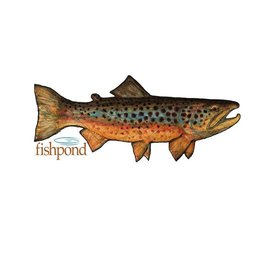 Fishpond Fishpond Local Sticker - 6""