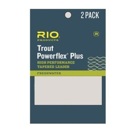 Rio Products Rio Powerflex Plus Leaders - 9FT - 2 Pack