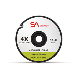 Scientific Anglers SA Absolute Trout Tippet  100m Spool