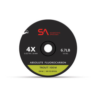 Scientific Anglers SA Absolute Fluorocarbon Trout Tippet  100m Spool