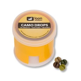 Loon Camo Drop Twist Pot Split Shot -