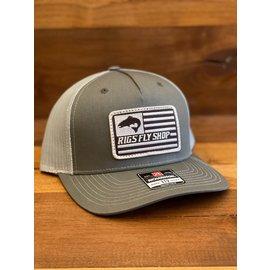 Richarson Hats RIGS Flag Logo 112FP -  Split Beetle/Quarry