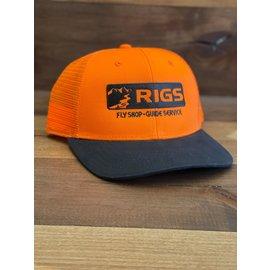 RIGS RIGS Logo'd Orvis Blaze Orange and Wax Cap
