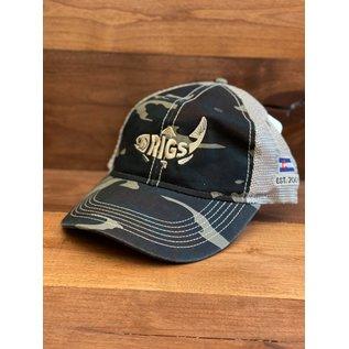 RIGS RIGS Legend Vintage Wash Trucker Hat -