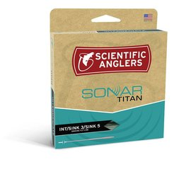 Scientific Anglers Sonar Titan INT/Sink 3/Sink 5 - Pale Green/Olive/Charcoal