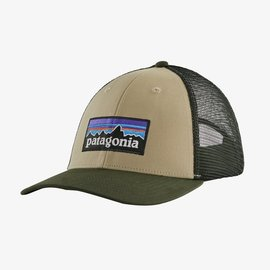 Patagonia Patagonia P-6 Logo LoPro Trucker - El Cap Khaki
