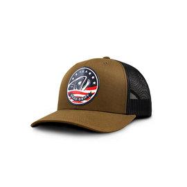 Dead Drift Dead Drift Patriot Trout Trucker - Mulch Brown