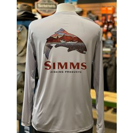 Simms Fishing RIGS Logo Solar Tech Tee