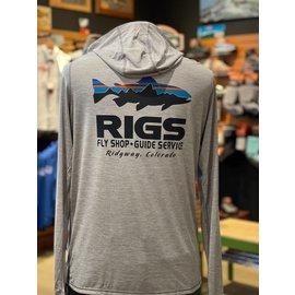 Patagonia RIGS Retro Fish M's Tropic Comfort Hoody II -