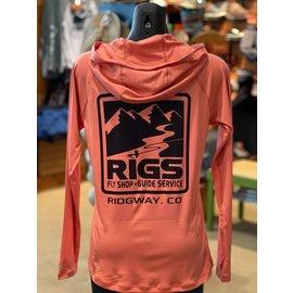 Simms Fishing RIGS Logo W's  Solarflex Hoody