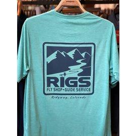 Patagonia RIGS Logo M's Cap Cool Daily  Shirt