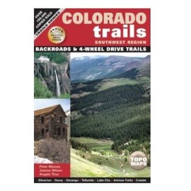 Colorado Trails Book - Southwest Backroads & 4WD