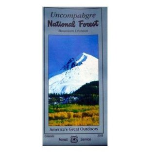 Uncompahgre National Forest  Mountain Division Map